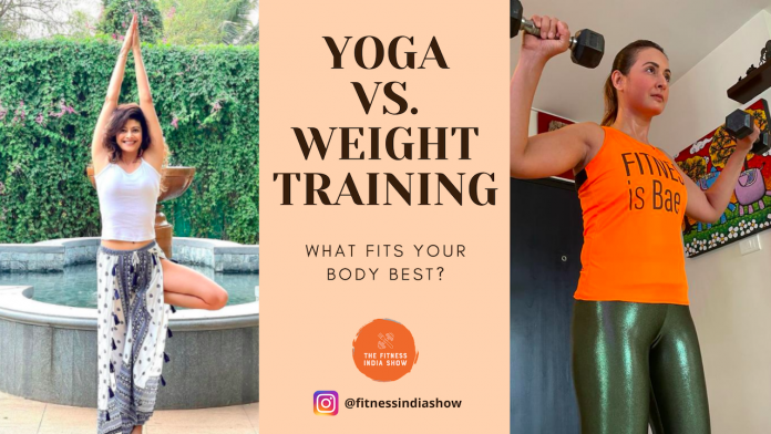 Yoga and Gyming with The Fitness India Show