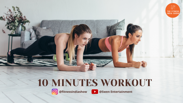 10 MINUTES WORKOUT- FIS