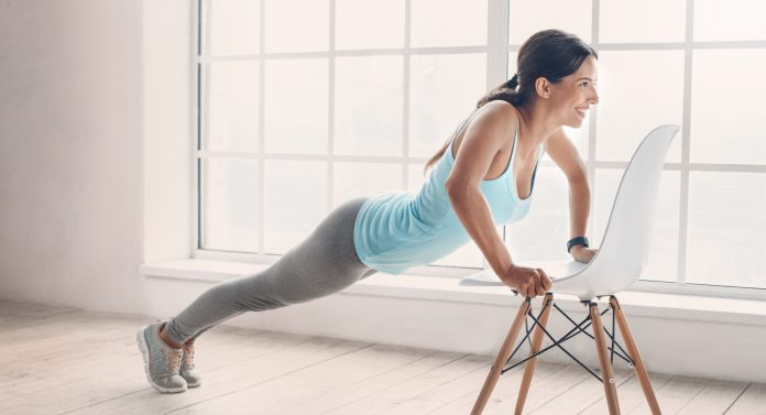 Common Household Objects As Exercise Equipments